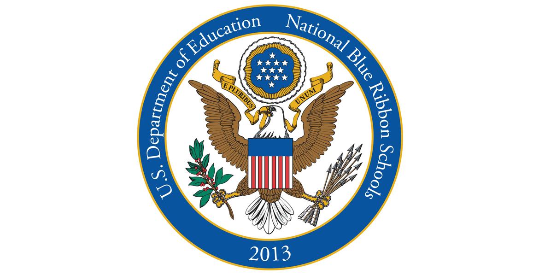 2013 National Blue Ribbon Schools Logo