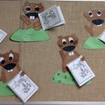 Mrs. Miller's 1st Graders Make Groundhogs