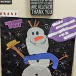Mrs. Miller's Classroom Door