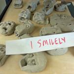 1-Smiley Clay Art