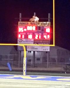 Semi's 2015 scoreboard